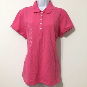 NWT IZOD Pink polo shirt